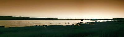 Thomas Kinkade - Panorama of Mono Lake in infrared by Karen Foley