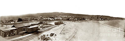 Photograph - Watkins Panorama Of Monterey, California 1882 by California Views Mr Pat Hathaway Archives