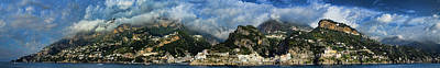 Photograph - Panorama Of The Amalfi Coastline by David Smith