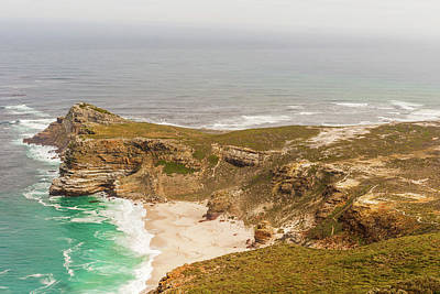 Photograph - Panorama Of The Cape Of Good Hope South Africa  by Marek Poplawski