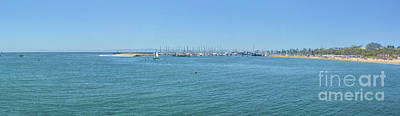 Photograph - Panorama Of The Harbor by Joe Lach
