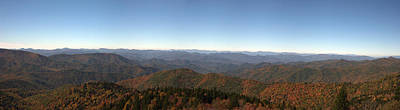 Photograph - Panorama Of The North Carolina Mountains by Jill Lang