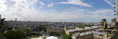 Photograph - Panorama Paris by Sarah Lamoureux