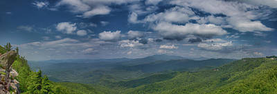 Photograph - Panorama View From The Blowing Rock by John Haldane