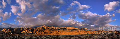 Photograph - Panoramic Alabama Hills Eastern Sierras California by Dave Welling