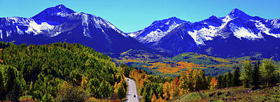 Photograph - Panoramic Colorado Autumn by David Lee Thompson