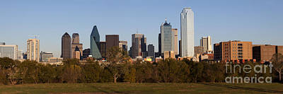 Panoramic - Dallas Texas Art Print