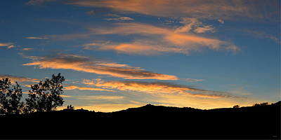 Photograph - Panoramic - Desert Sunset by Glenn McCarthy Art and Photography