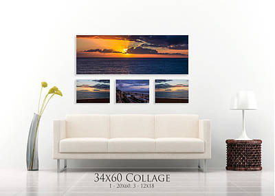 Photograph - Panoramic Display - Example B by Gene Parks