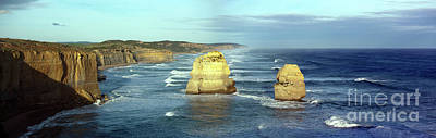 Photograph - Panoramic Image Of Two Of The Twelve Apostles by John Gaffen