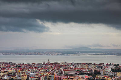 Photograph - Panoramic Lisbon by Carlos Caetano