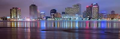 Photograph - Panoramic New Orleans by Frozen in Time Fine Art Photography