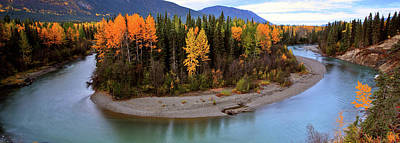 Beautiful Vistas Digital Art - Panoramic Northern River by Mark Duffy
