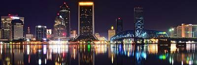 Photograph - Panoramic Of Jacksonville by Frozen in Time Fine Art Photography