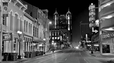 Photograph - Panoramic San Antonio by Frozen in Time Fine Art Photography