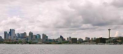 Panoramic Seattle Art Print