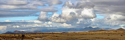 Photograph - Panoramic Skies by Leda Robertson