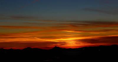 Digital Art - Panoramic Sky by Dan Stone