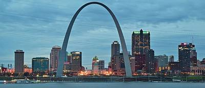 Photograph - Panoramic St Louis by Frozen in Time Fine Art Photography
