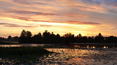 Photograph - Panoramic Sunrise Of June The Fourth by rd Erickson