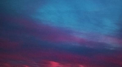 Photograph - Panoramic  Sunset by Nancy Marie Ricketts