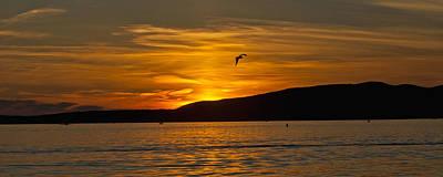 Photograph - Panoramic Sunset by Paul Mangold