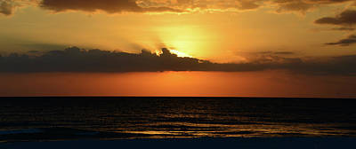 Photograph - Panoramic Sunset Work A by David Lee Thompson