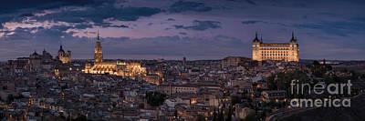 Photograph - Panoramic Toledo by Hernan Bua
