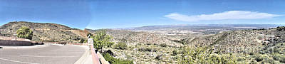 Photograph - Panoramic View From Jerome State Park by Jym Wells