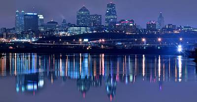 Photograph - Panoramic View From Kaw Point by Frozen in Time Fine Art Photography