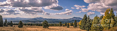 Photograph - Panoramic View From Snowbowl by Robert Bales