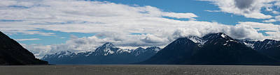 Panoramic View Of Beluga Point Art Print