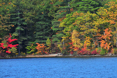 Photograph - Panoramic View Of Newfound Lake - Bristol New Hampshire  by Brian Hoover