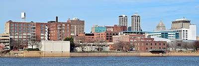 Photograph - Panoramic View Of Peoria by Frozen in Time Fine Art Photography