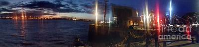 Photograph - Panoramic View Of Pier Head by Joan-Violet Stretch