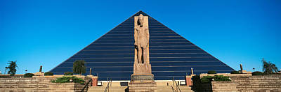 Panoramic View Of Statue Of Ramses Art Print by Panoramic Images
