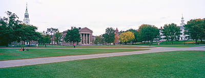 Panoramic View Of The Campus Art Print