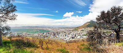 Photograph - Panoramic View Of The Cape Town by Anna Om