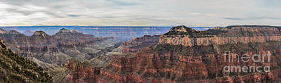 Southwest Gate Photograph - Panoramic View Of The North Rim by Robert Bales