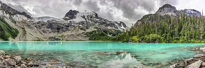 Photograph - Panoramic View Of Upper Joffre Lake by Pierre Leclerc Photography