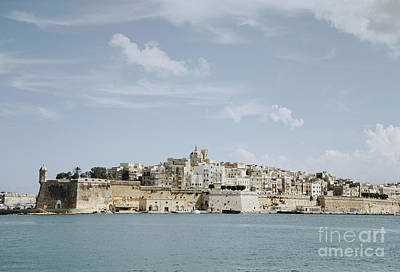 Skylines Photograph - Panoramic View Of Valletta, Malta by Dani Prints and Images