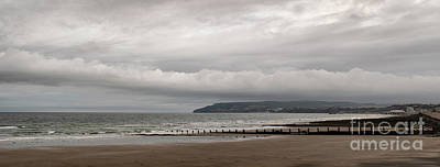 Photograph - Panoramic View Towards Shanklin by Clayton Bastiani