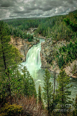 Photograph - Panoramic View Of Upper Falls by Robert Bales