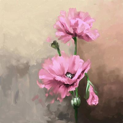 Pansies 408 3 Art Print by Mawra Tahreem