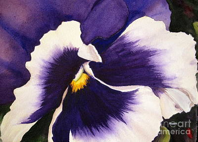 Painting - Pansy Face by Shirley Braithwaite Hunt