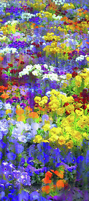 Photograph - Pansy Party II by Jessica Jenney