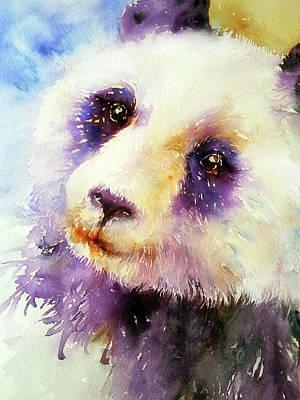Pansy The Giant Panda Art Print