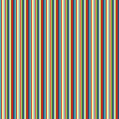 Digital Art - Pantaloon Stripe by Deborah Runham
