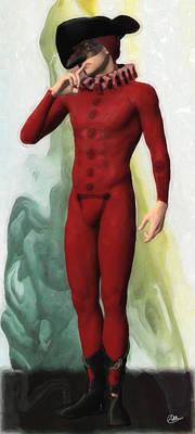 Panteleimon Mask Art Print by Joaquin Abella