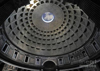 Roman Photograph - Pantheon by Alessandro Matarazzo